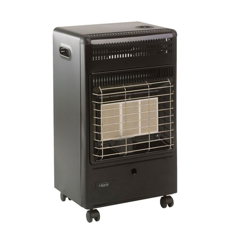 Lifestyle Euro Black Cabinet Heater