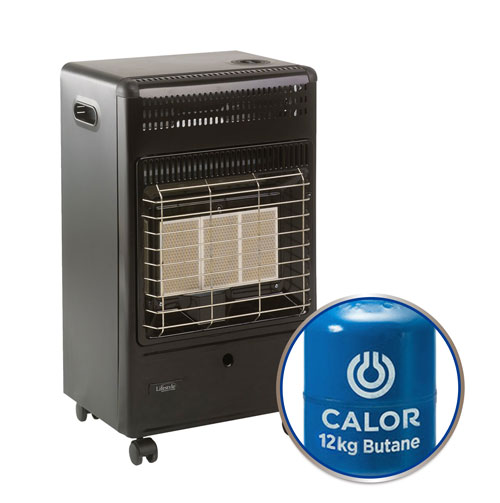 Lifestyle 'Euro' Black Cabinet Heater Package